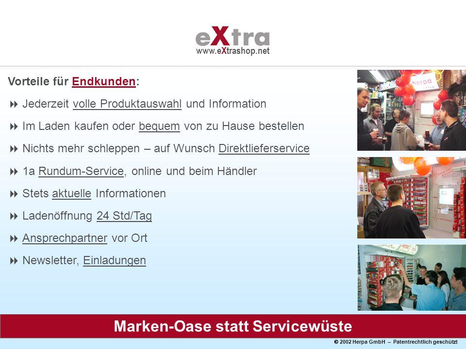 Marken-Oase statt Servicewüste