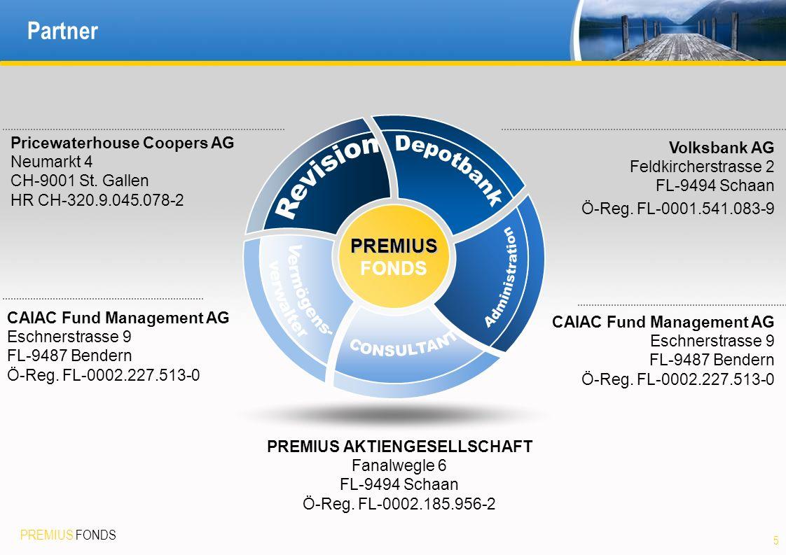 Depotbank Revision Administration Vermögens- verwalter CONSULTANT