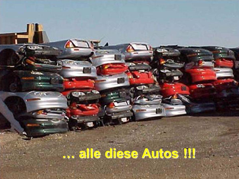 … alle diese Autos !!!