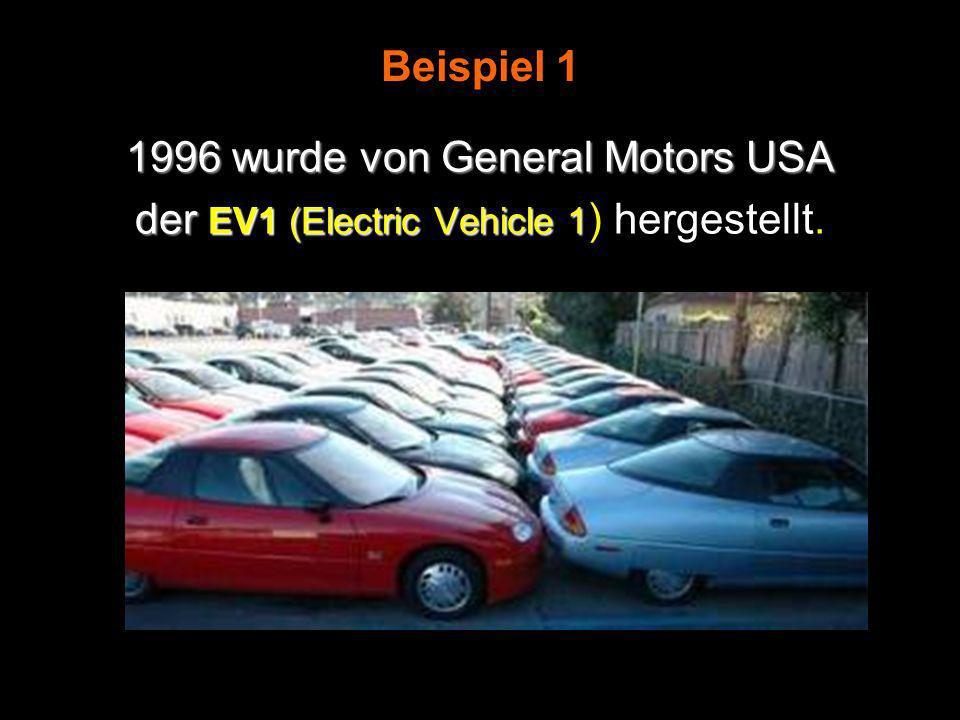 1996 wurde von General Motors USA