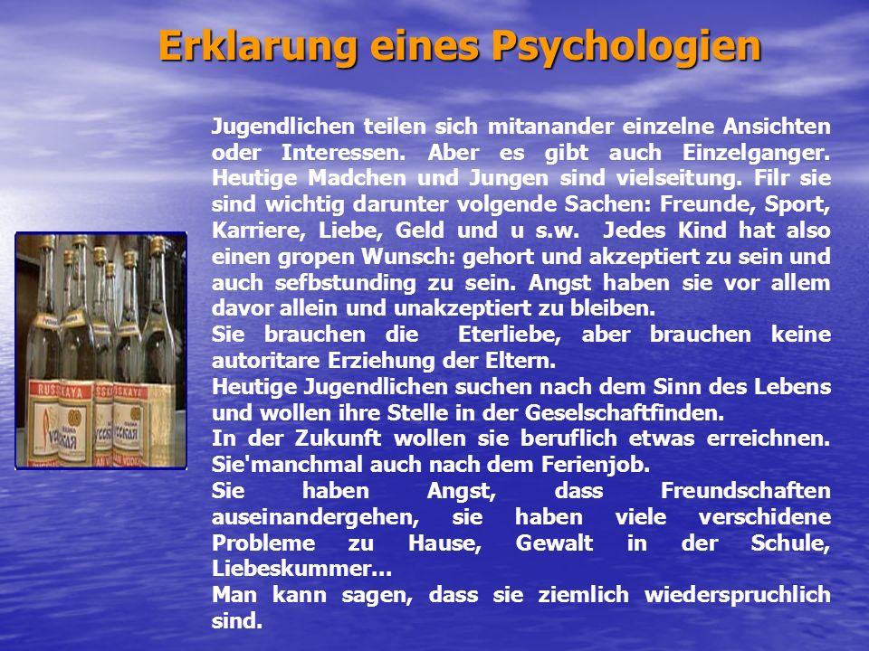 Erklarung eines Psychologien