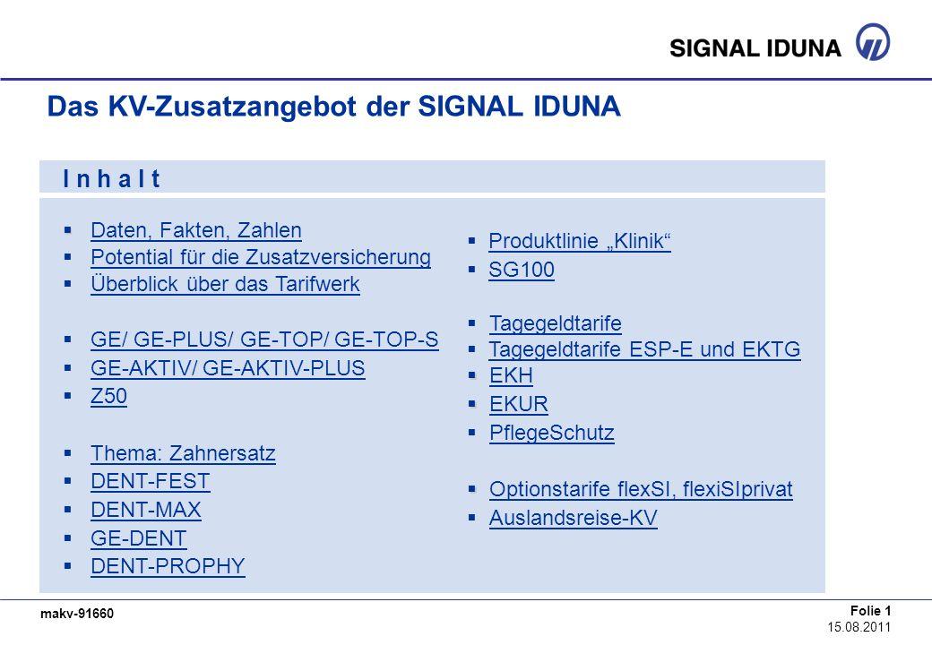 Das KV-Zusatzangebot der SIGNAL IDUNA