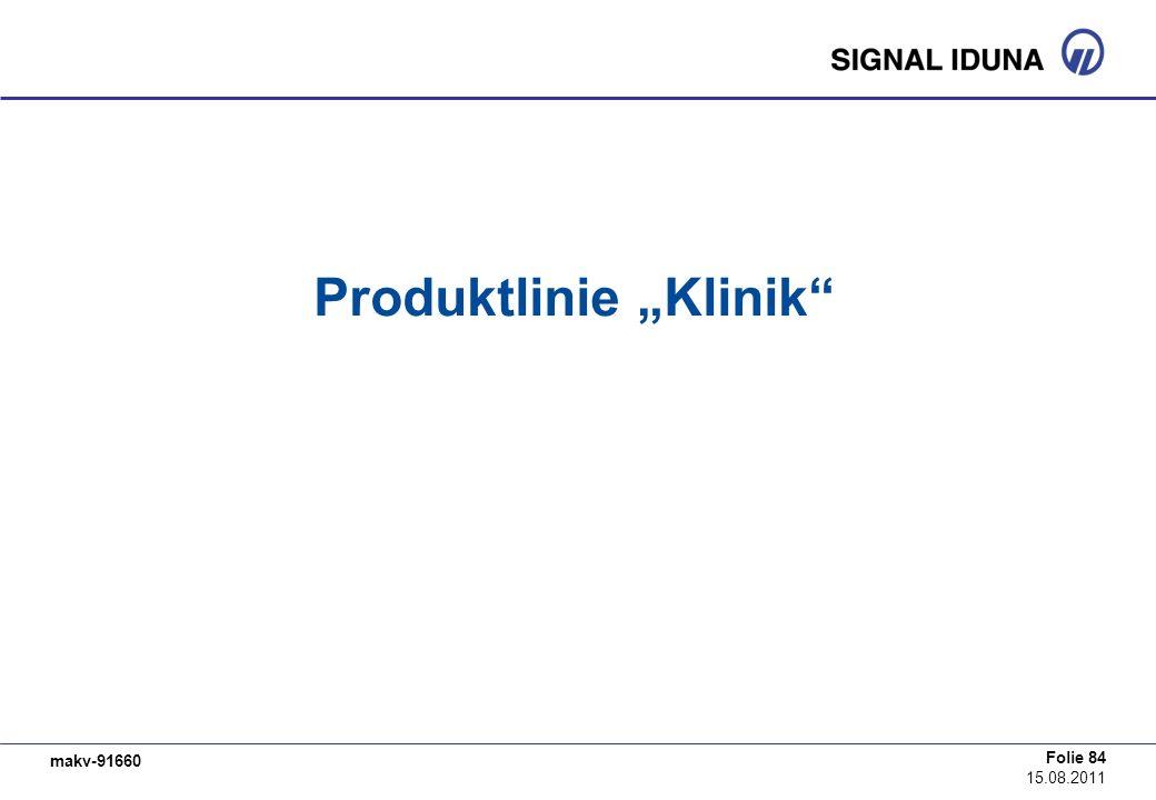 """Produktlinie """"Klinik"""
