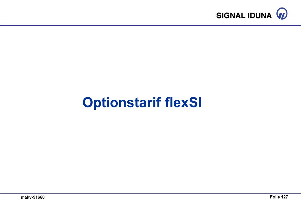 Optionstarif flexSI
