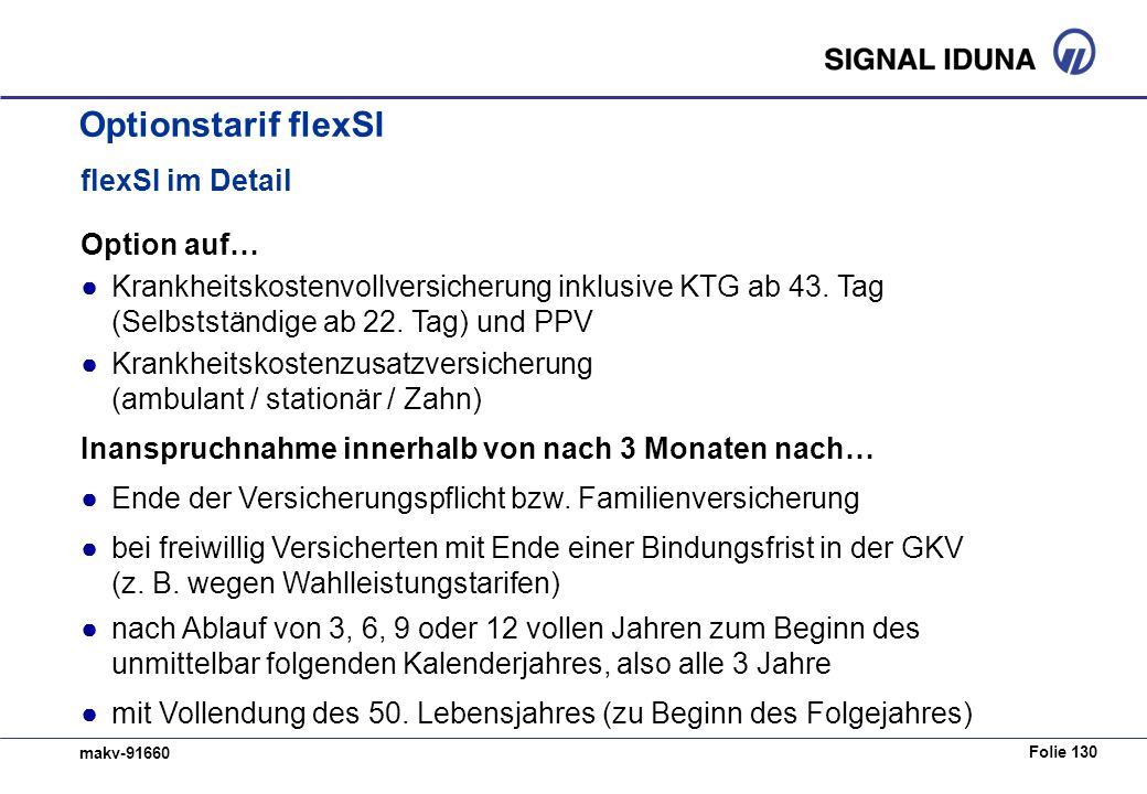 Optionstarif flexSI flexSI im Detail Option auf…