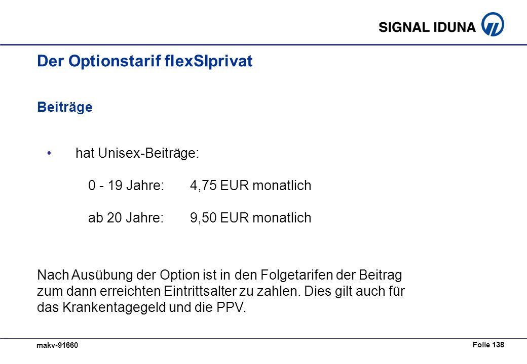 Der Optionstarif flexSIprivat