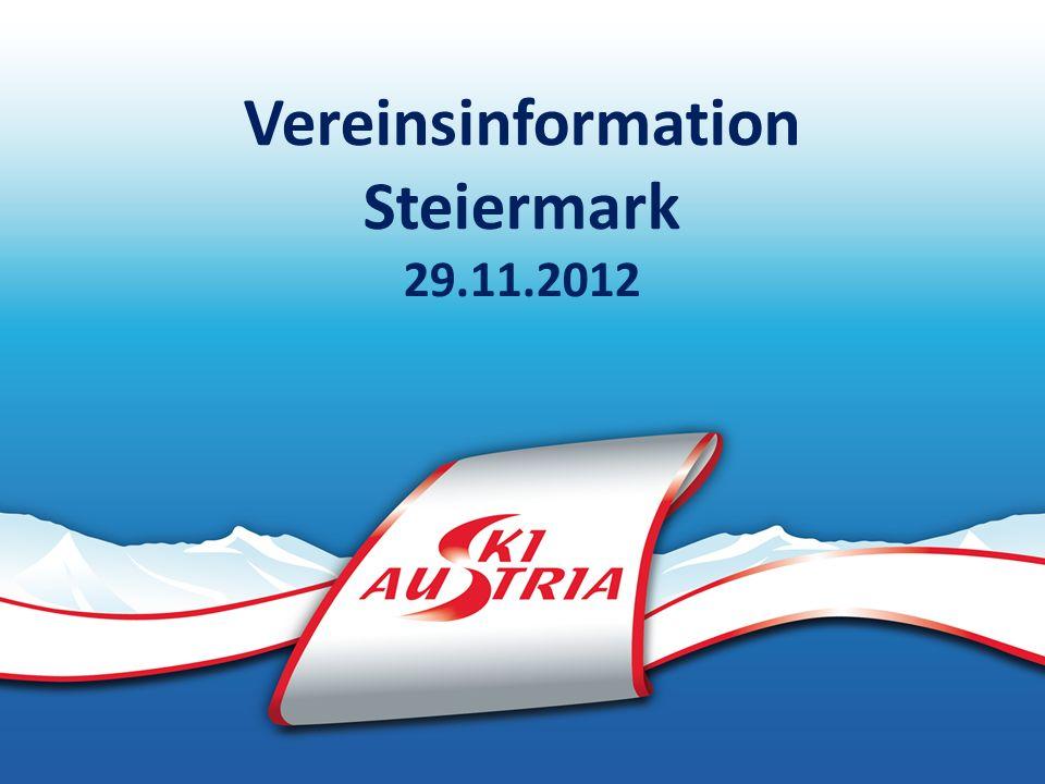 Vereinsinformation Steiermark