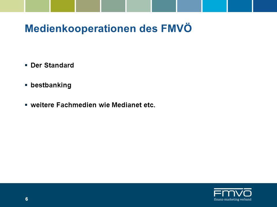 Medienkooperationen des FMVÖ