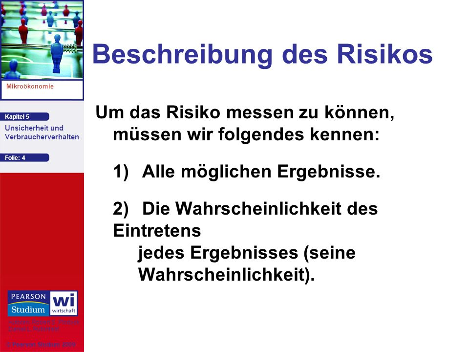 Beschreibung des Risikos