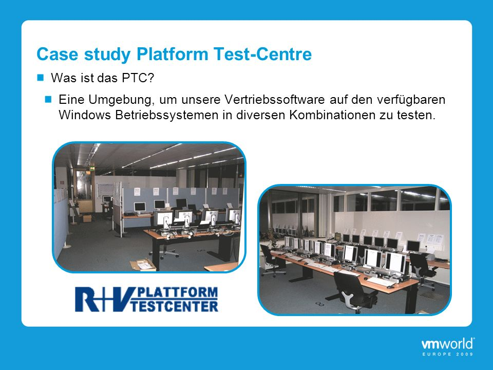 Case study Platform Test-Centre