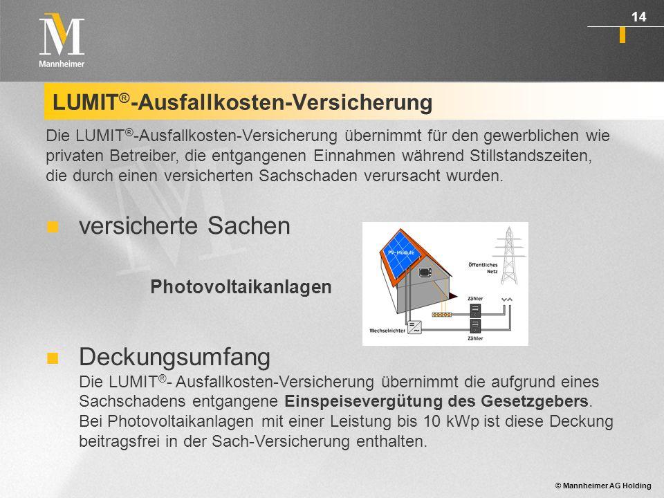 LUMIT®-Ausfallkosten-Versicherung