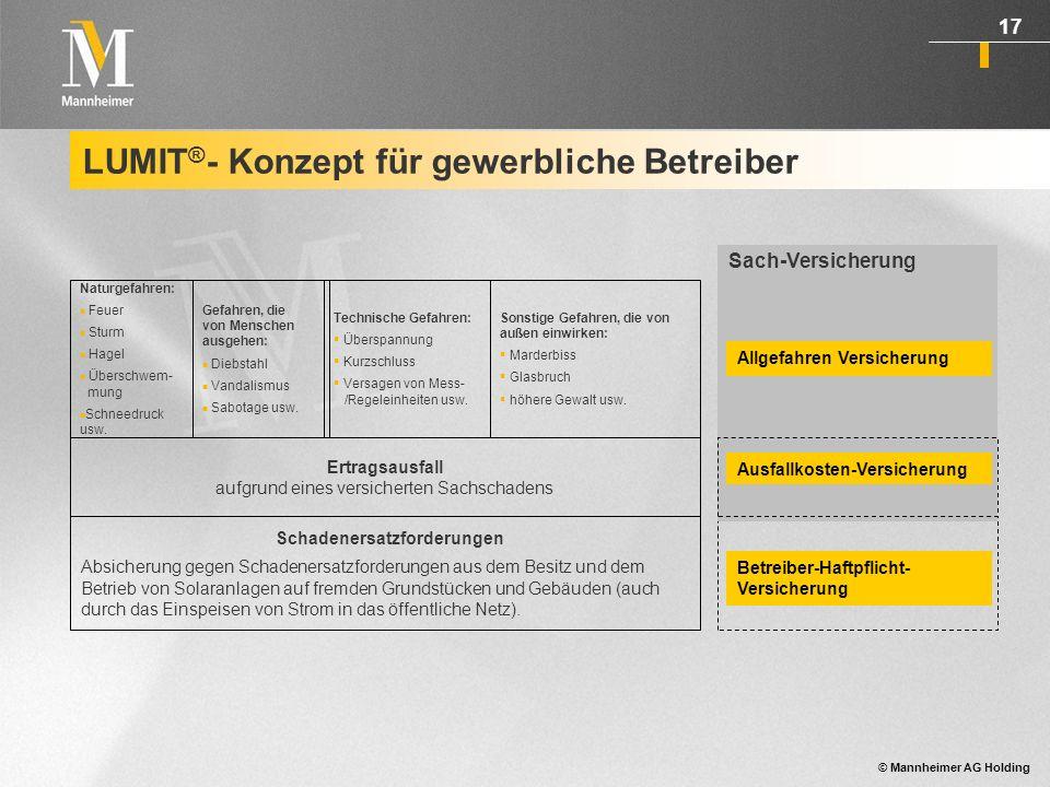 LUMIT®- Konzept für gewerbliche Betreiber
