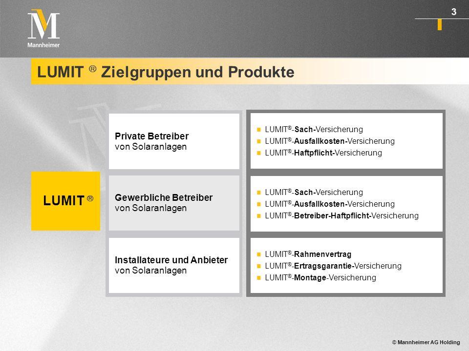 LUMIT  Zielgruppen und Produkte
