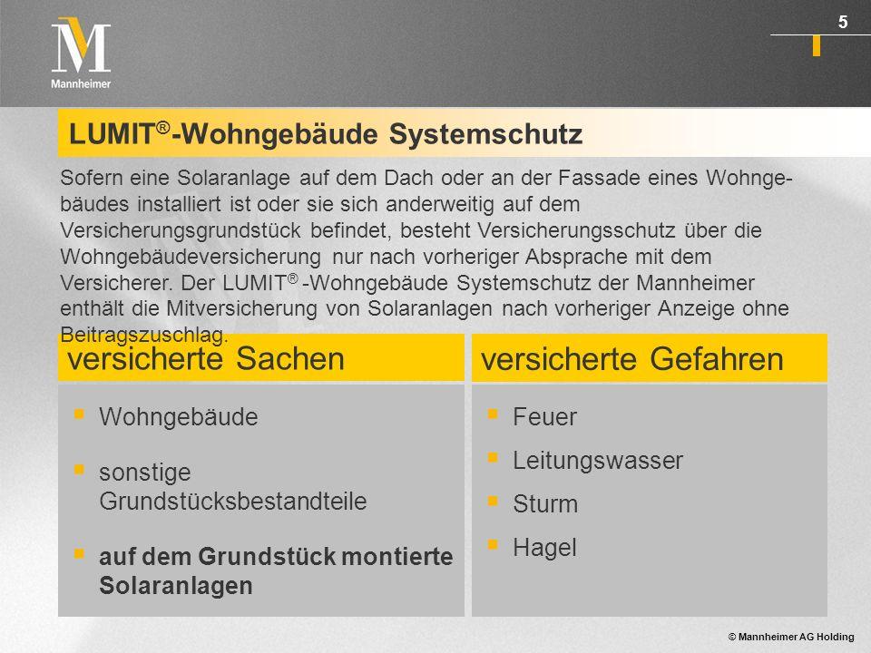 LUMIT®-Wohngebäude Systemschutz