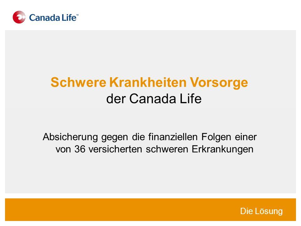 Schwere Krankheiten Vorsorge der Canada Life