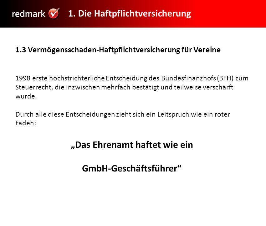 """""""Das Ehrenamt haftet wie ein GmbH-Geschäftsführer"""