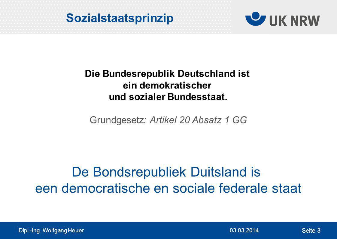 Die Bundesrepublik Deutschland ist und sozialer Bundesstaat.
