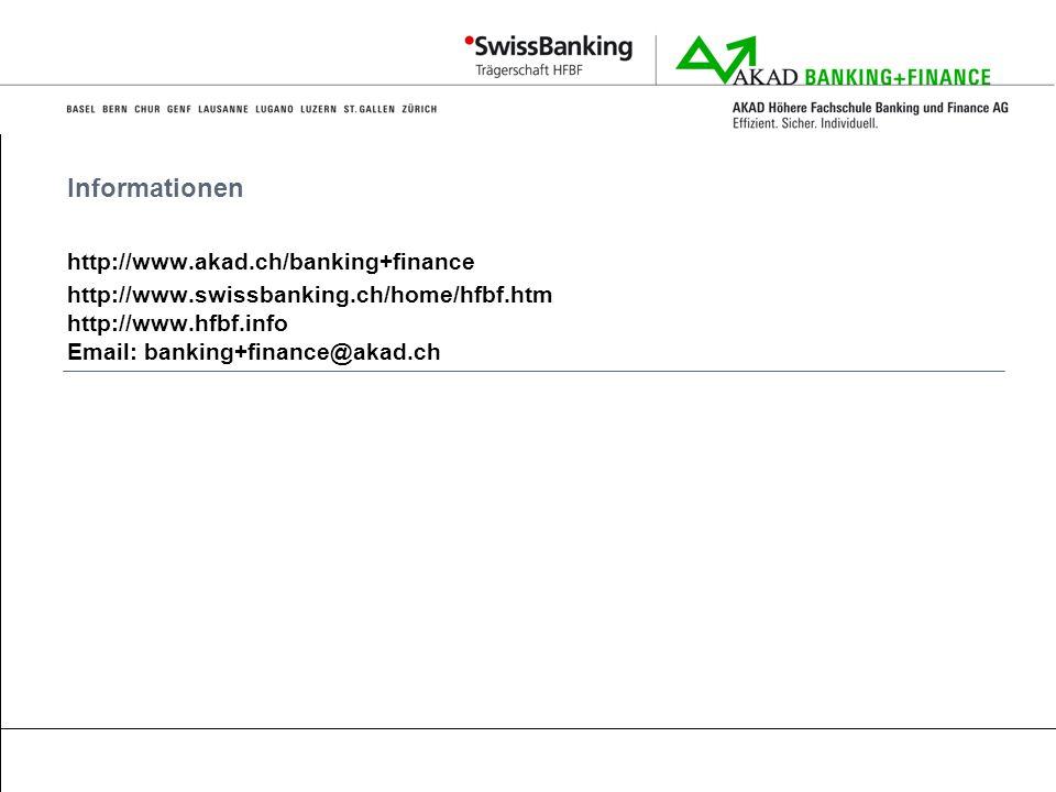 Informationen http://www.akad.ch/banking+finance