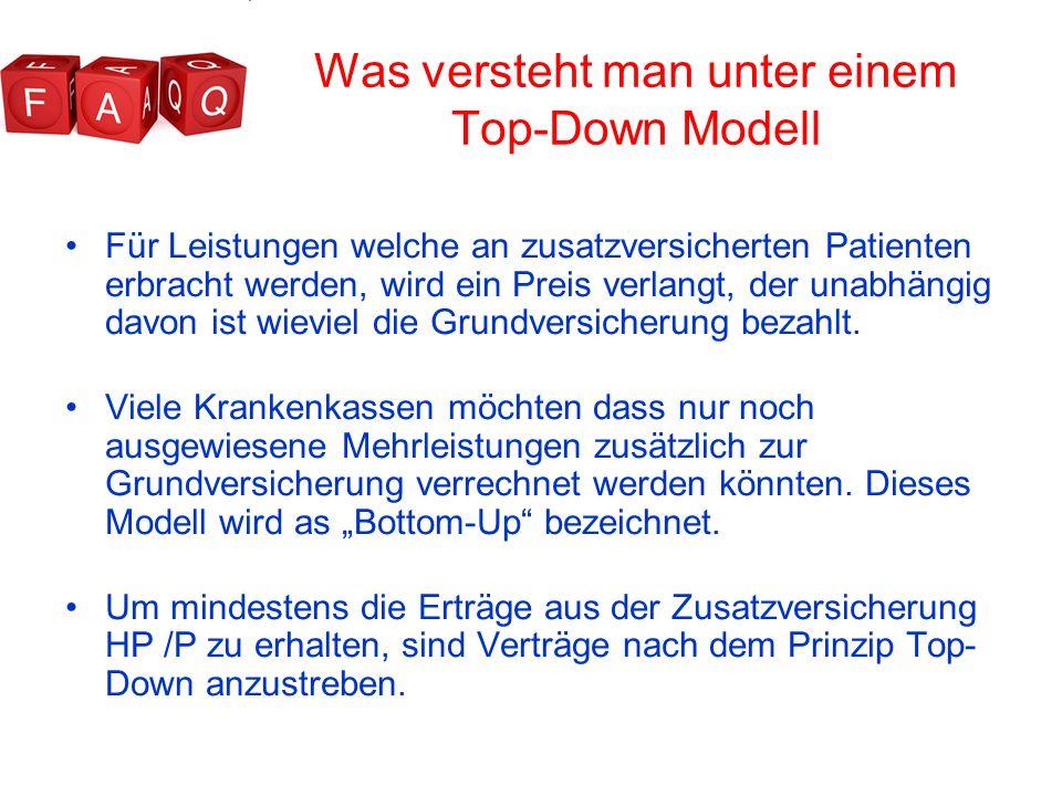 Was versteht man unter einem Top-Down Modell