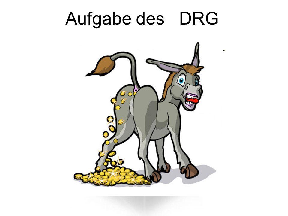 Aufgabe des DRG