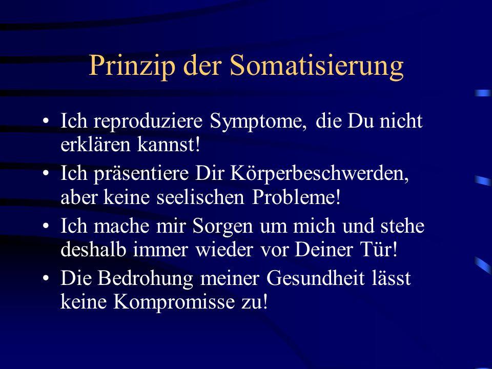 Prinzip der Somatisierung