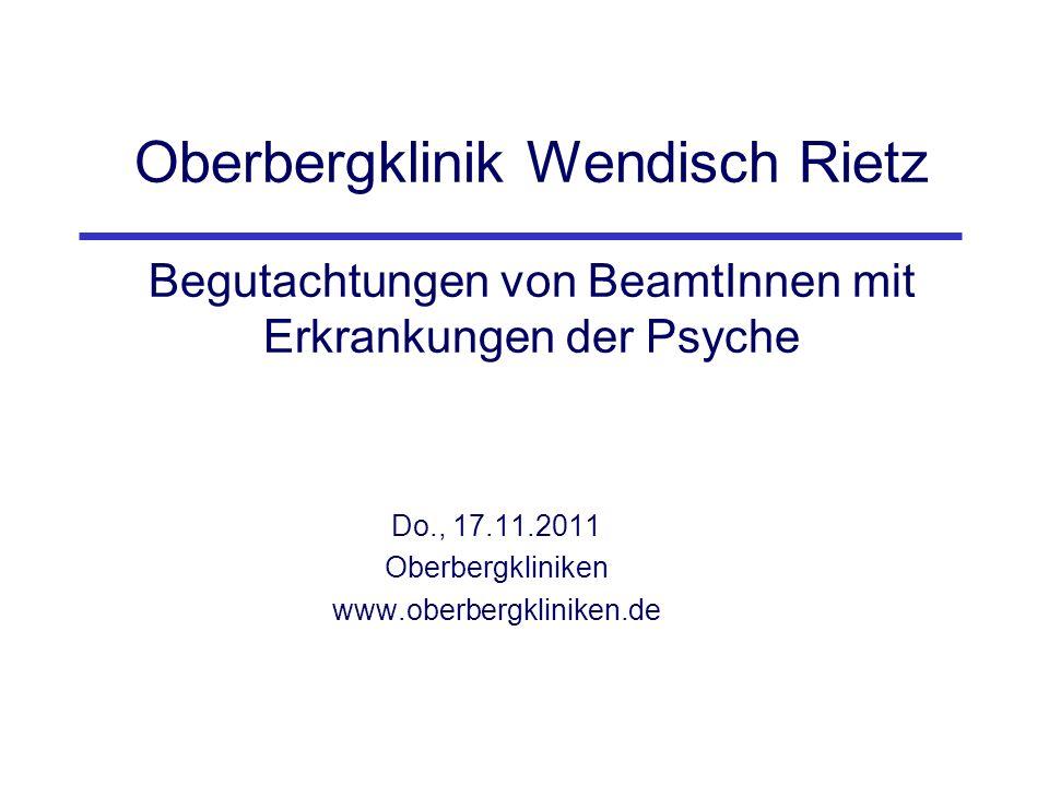 Do., 17.11.2011 Oberbergkliniken www.oberbergkliniken.de
