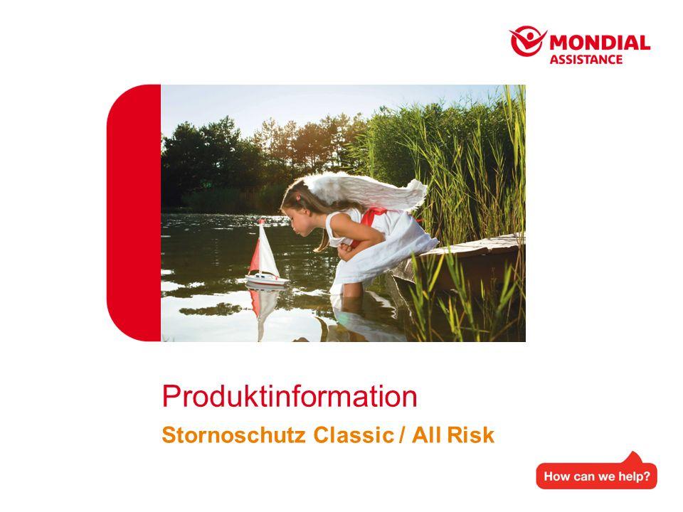 Stornoschutz Classic / All Risk