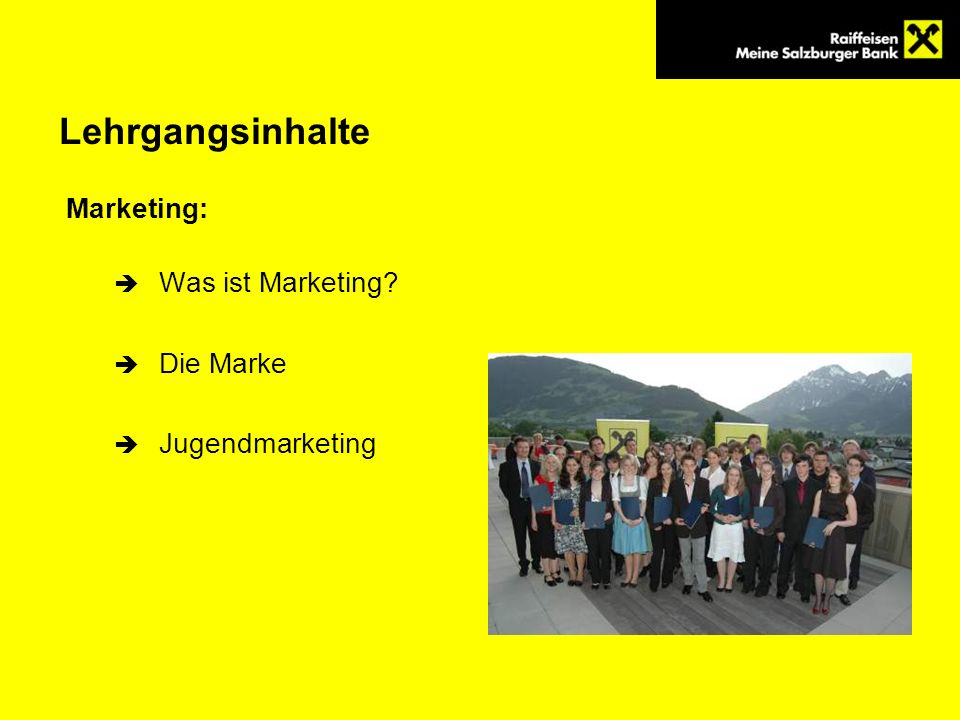 Lehrgangsinhalte Marketing: Was ist Marketing Die Marke