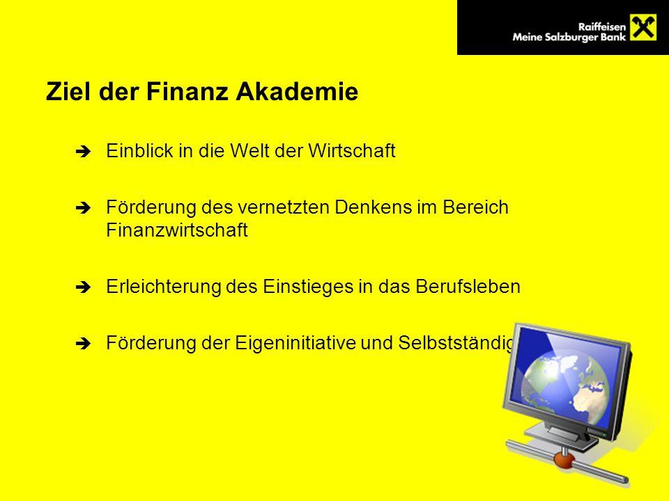 Ziel der Finanz Akademie