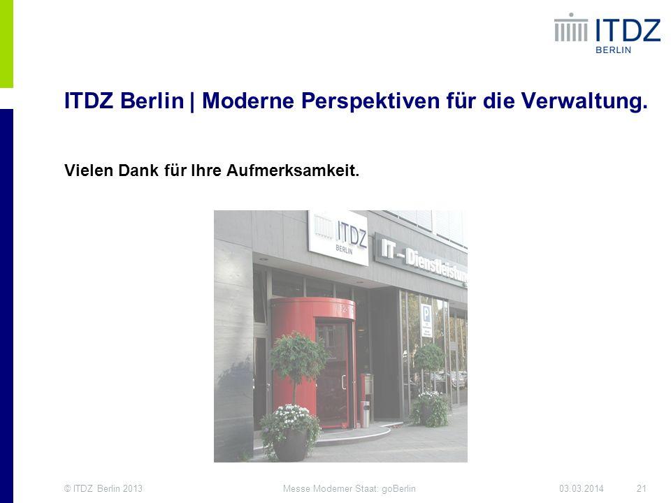 ITDZ Berlin | Moderne Perspektiven für die Verwaltung.