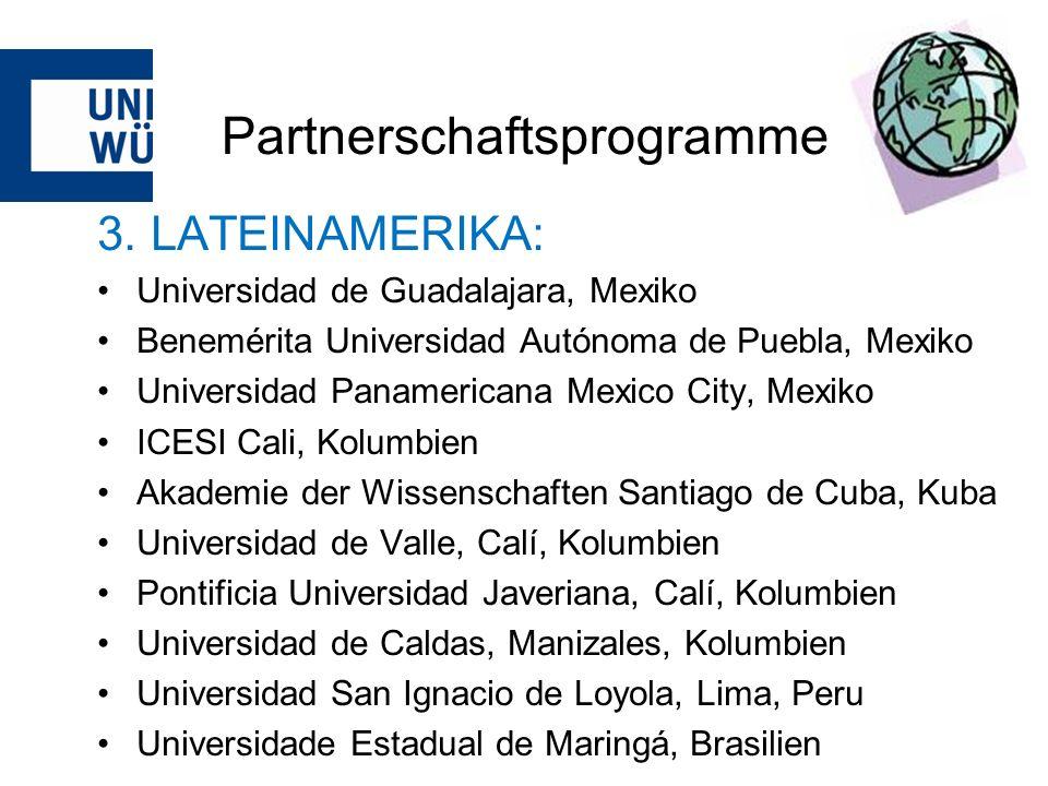 Partnerschaftsprogramme