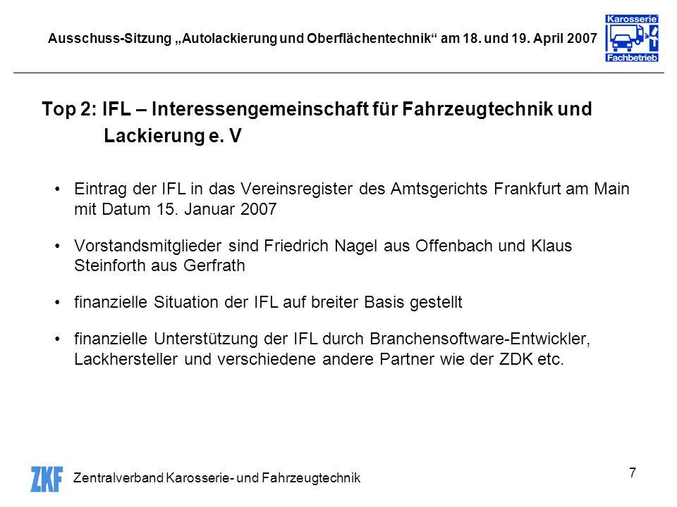 Top 2: IFL – Interessengemeinschaft für Fahrzeugtechnik und