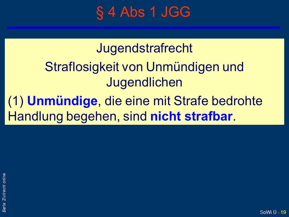 § 4 Abs 1 JGG Jugendstrafrecht