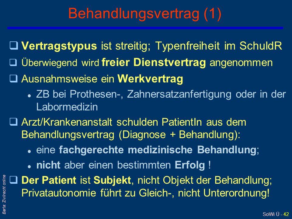 Behandlungsvertrag (1)