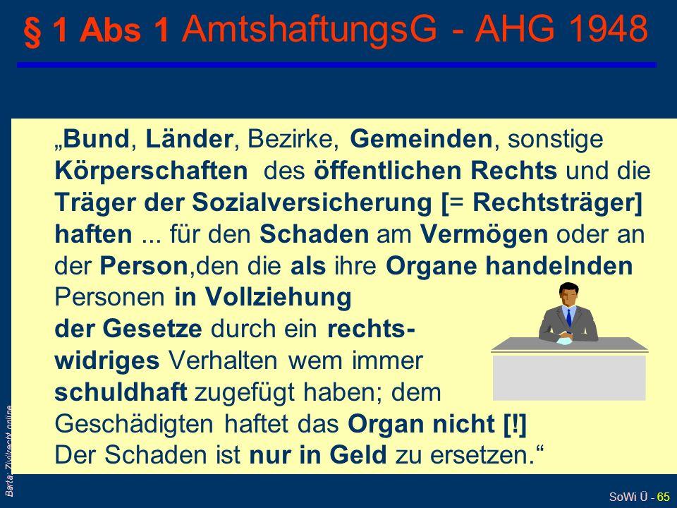 § 1 Abs 1 AmtshaftungsG - AHG 1948