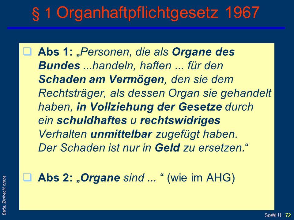 § 1 Organhaftpflichtgesetz 1967