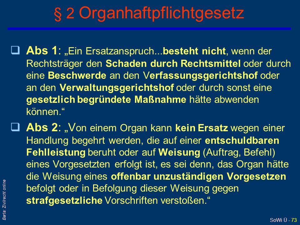 § 2 Organhaftpflichtgesetz