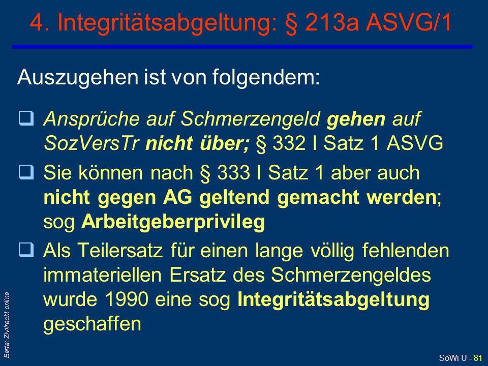 4. Integritätsabgeltung: § 213a ASVG/1