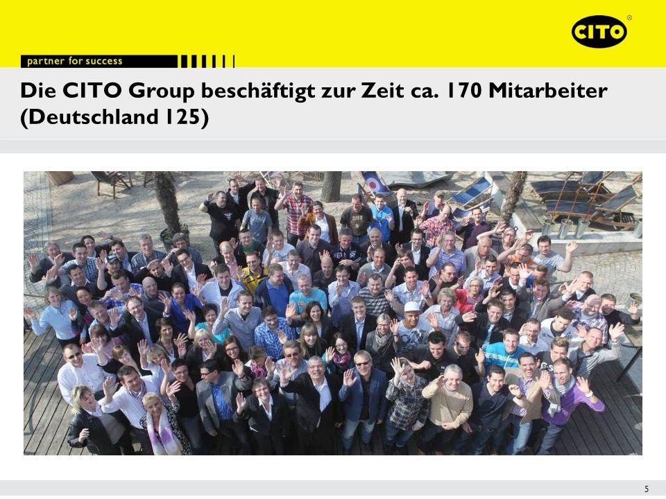 Die CITO Group beschäftigt zur Zeit ca