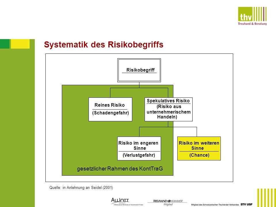 Systematik des Risikobegriffs