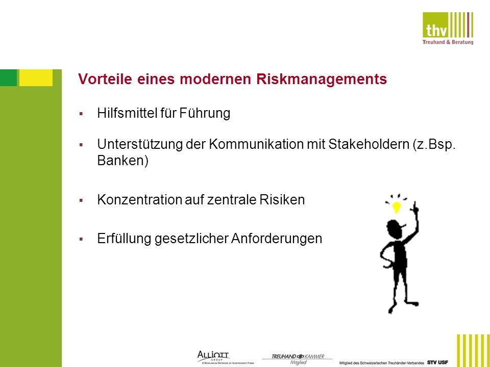 Vorteile eines modernen Riskmanagements