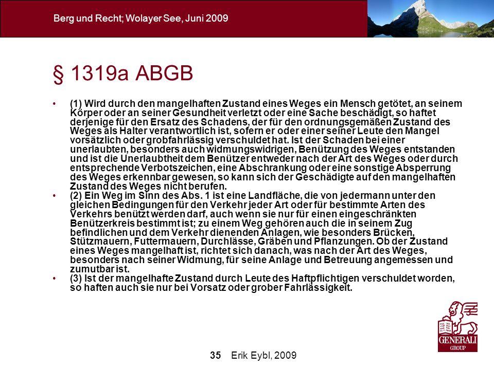 § 1319a ABGB