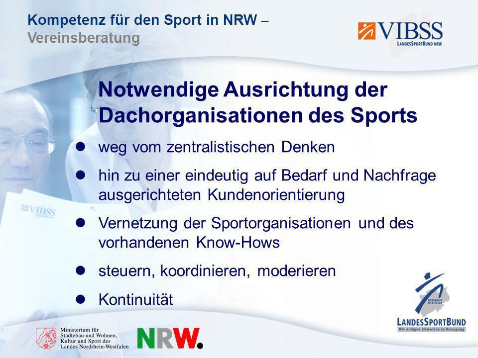 Notwendige Ausrichtung der Dachorganisationen des Sports