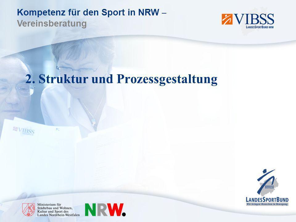 2. Struktur und Prozessgestaltung