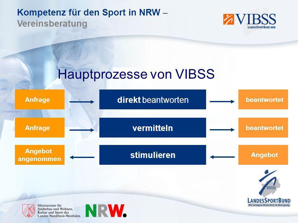 Hauptprozesse von VIBSS