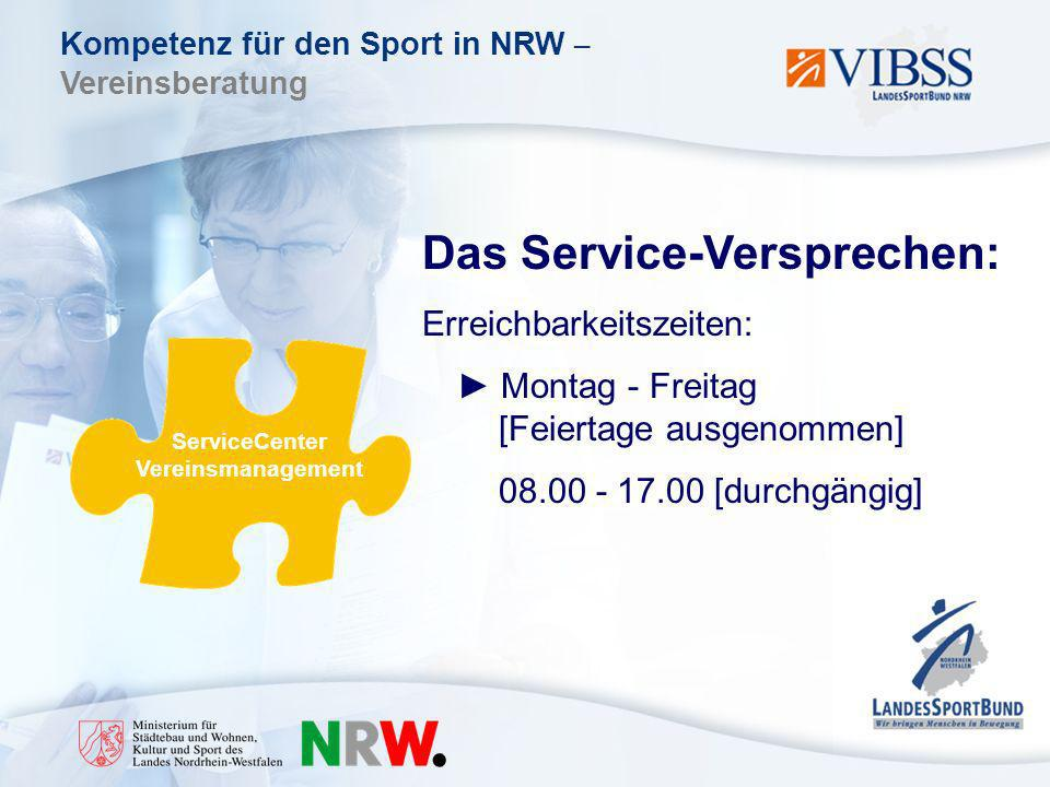 ServiceCenter Vereinsmanagement
