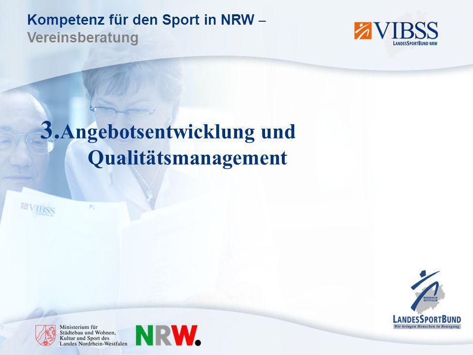 3.Angebotsentwicklung und Qualitätsmanagement