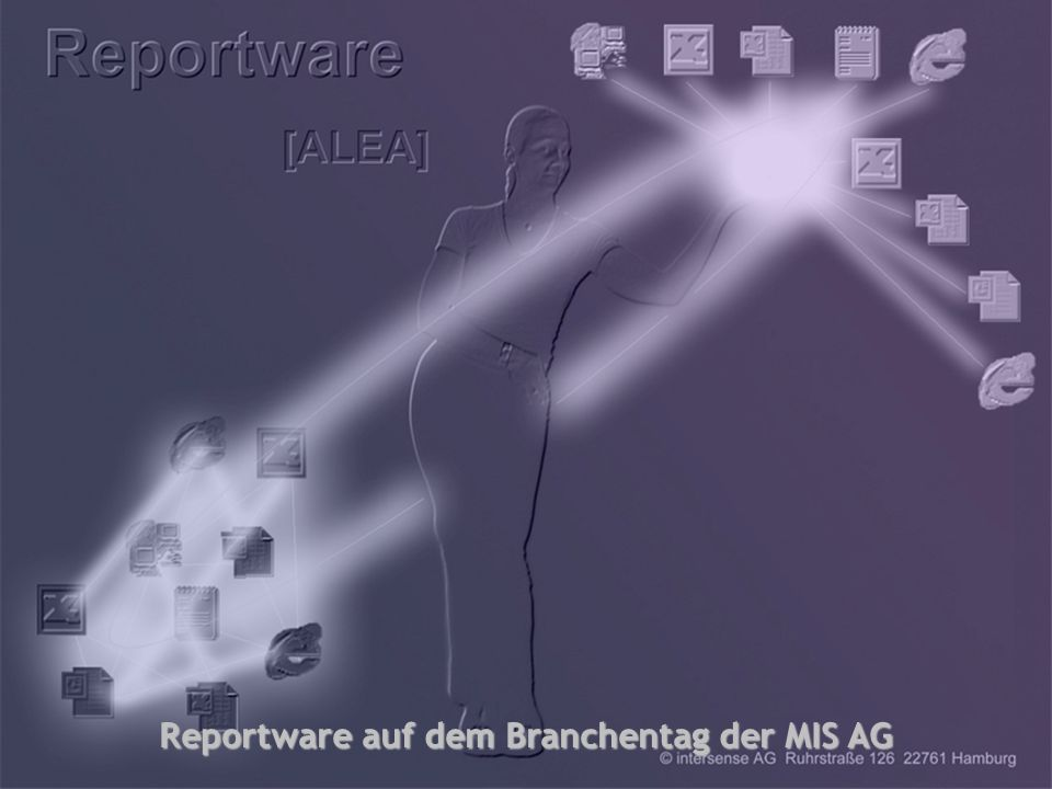 Reportware auf dem Branchentag der MIS AG
