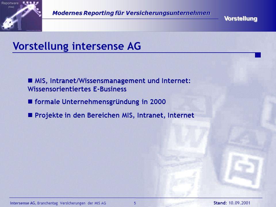 Vorstellung intersense AG