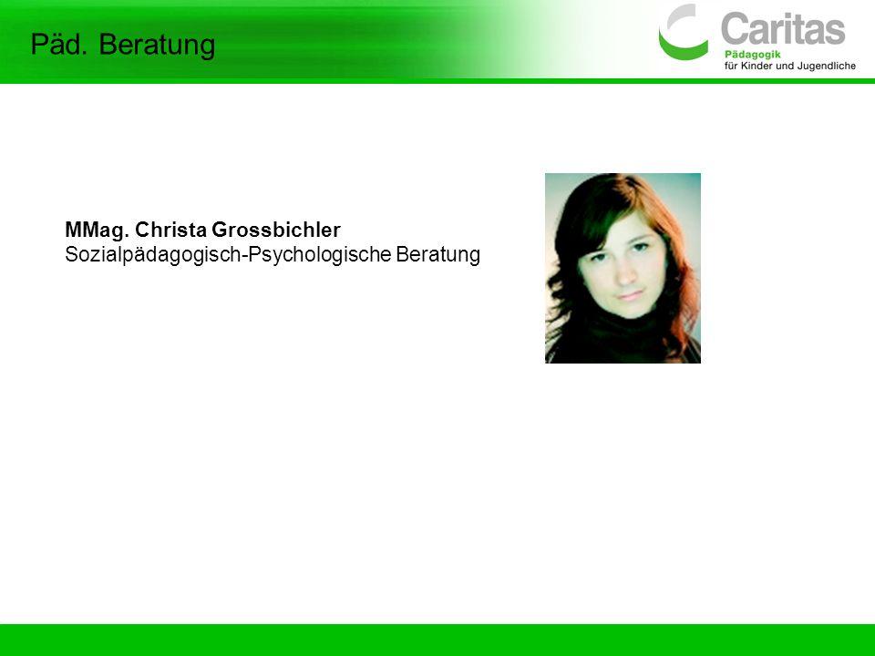 Päd. Beratung MMag. Christa Grossbichler